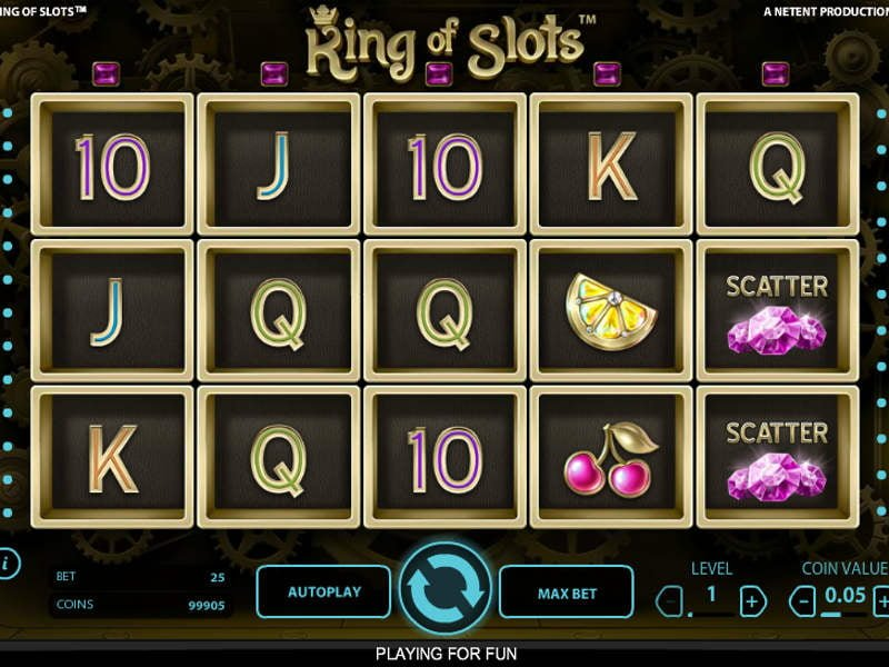 king of slots spielen