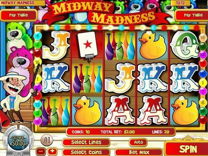 Midway Madness i-Slot