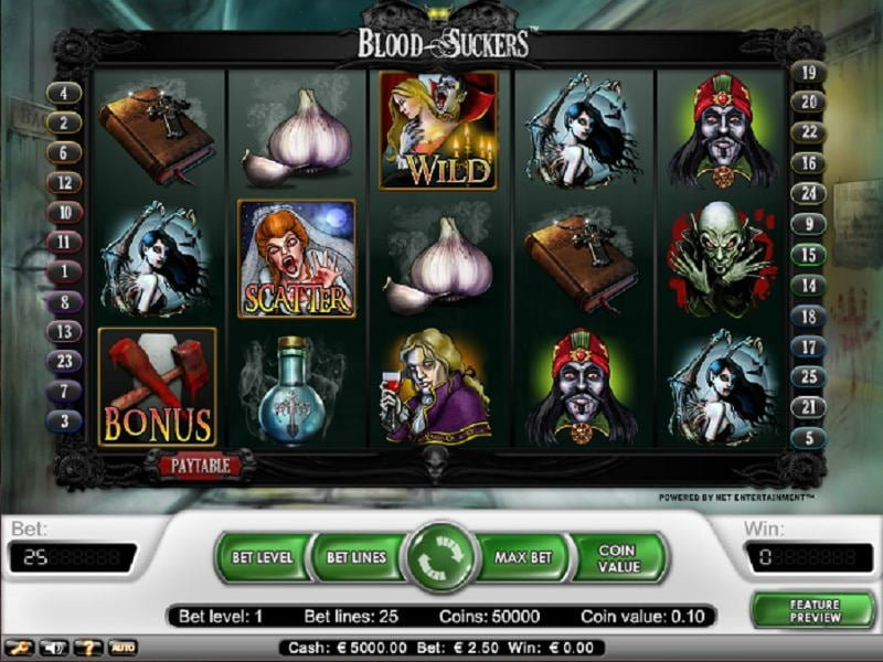 Blood Suckers Slots - Play Blood Sucker Slots Free Online.