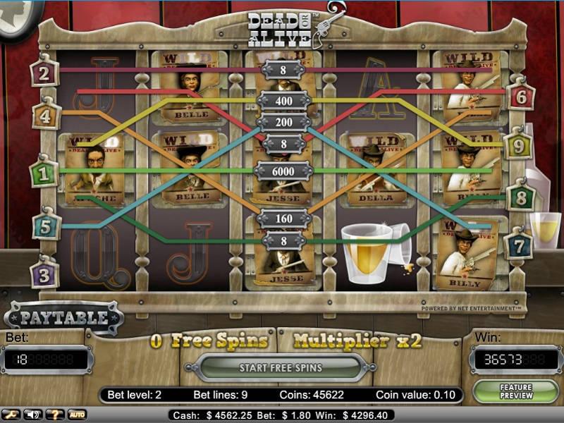dead or alive casino free