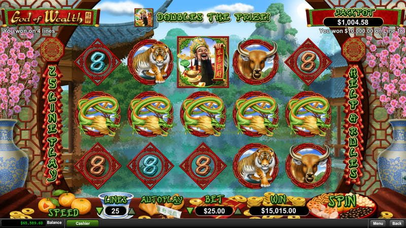 Spiele God Of Wealth - Video Slots Online