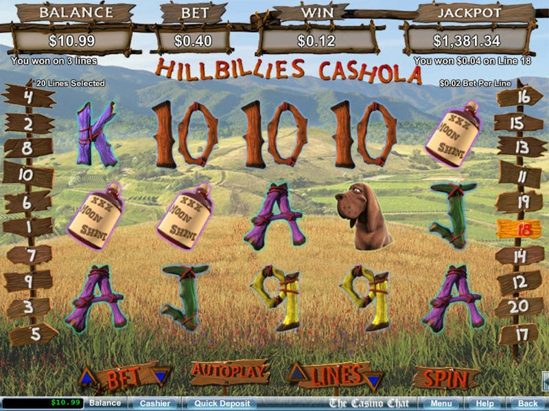 hillbillies slot
