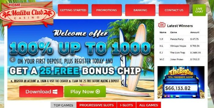 Malibu Club Casino Review – Online Casino Review