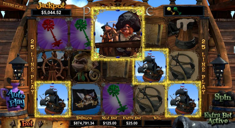 Pirates of the Seven Reels Slots - Read the Review Now
