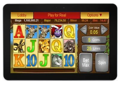 ipad and tablet casinos