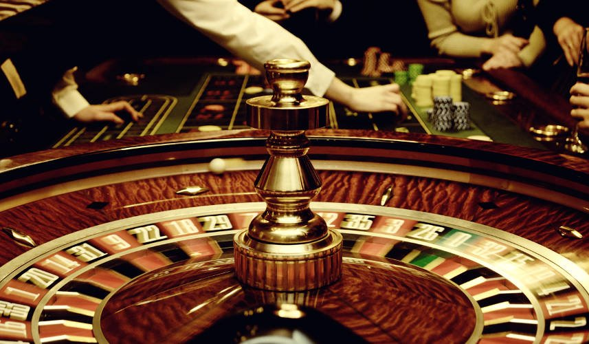 roulette casino table