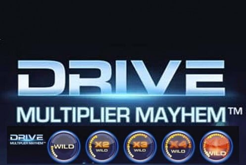 Drive Multiplier Mayhem™ Slot Machine Game to Play Free in NetEnts Online Casinos