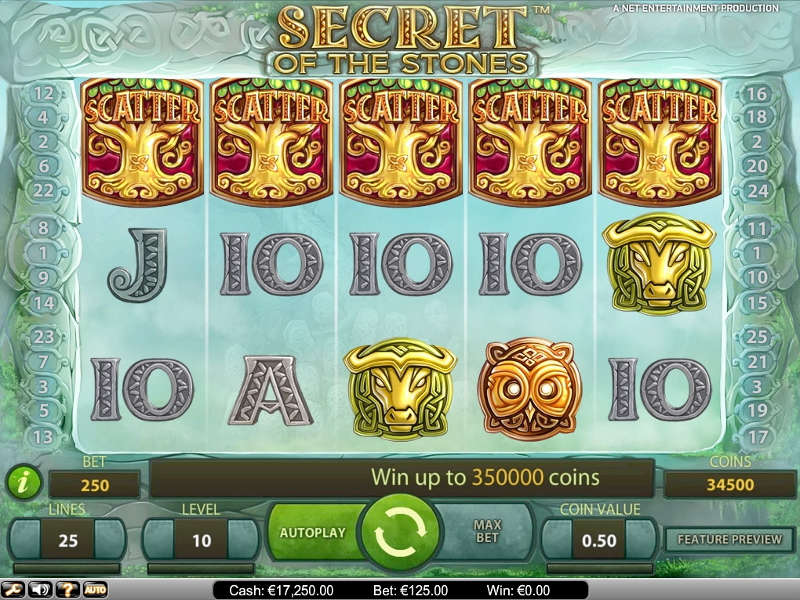 Secret of the Stones Video Slot for Real Money - Rizk Casino