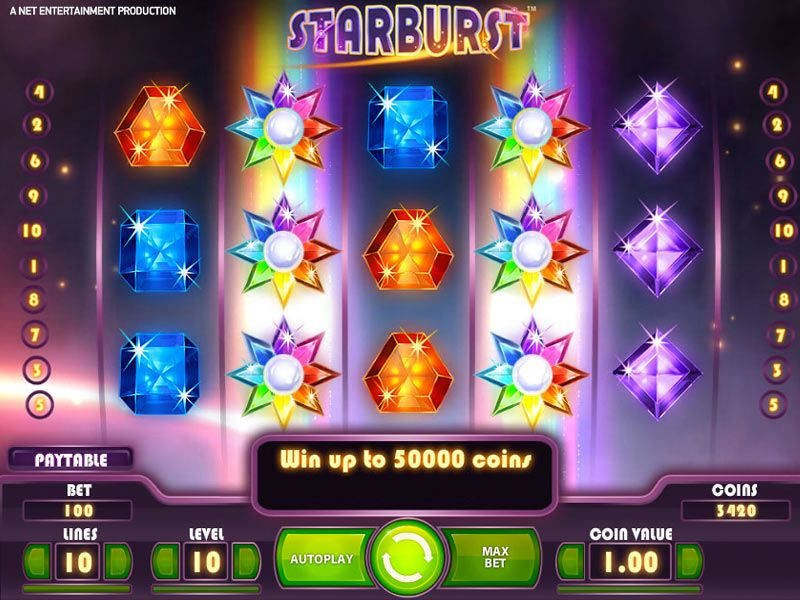 Play Starburst Slot for Rewards that Spark | PlayOJO