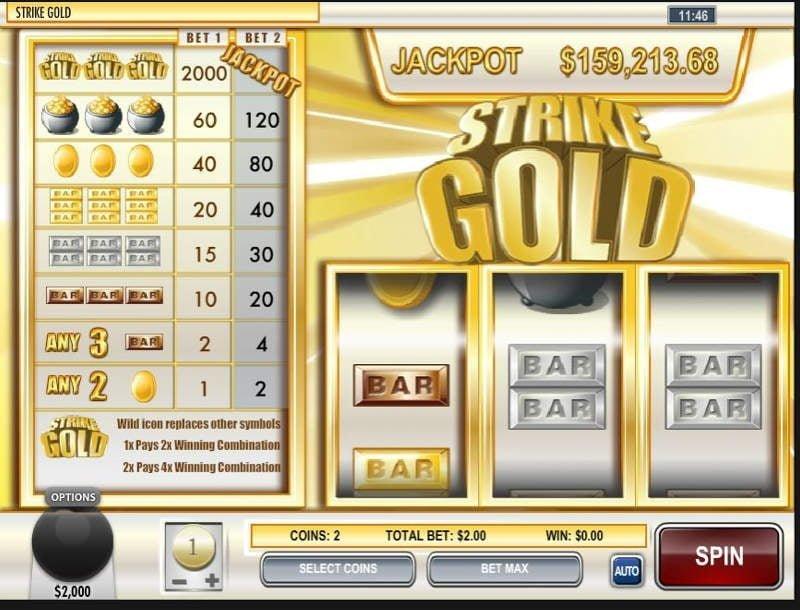 strike slot machine