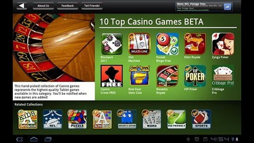 Play Casino Games for fun or real money
