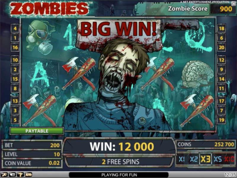 zombies casino slots