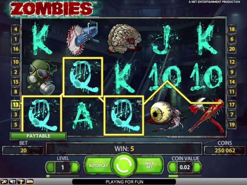 netent zombies review