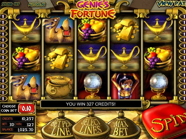 genies-fortune slot