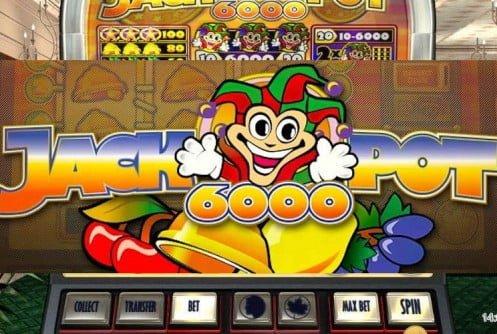 Vaardigheid slot machine 6000