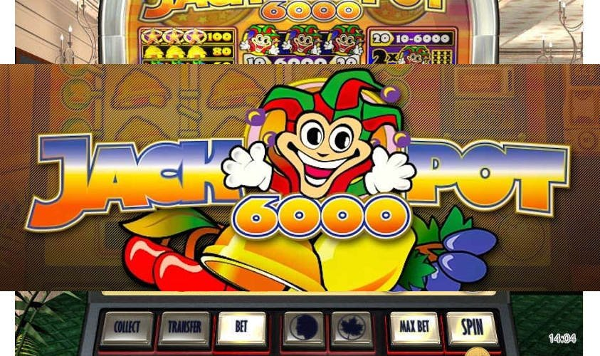 Play Jackpot 6000 Slot Online at Casino.com UK