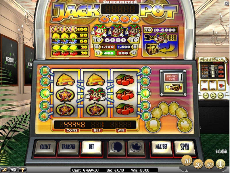 Jackpot 6000 Slots - Play Online Video Slot Games for Free