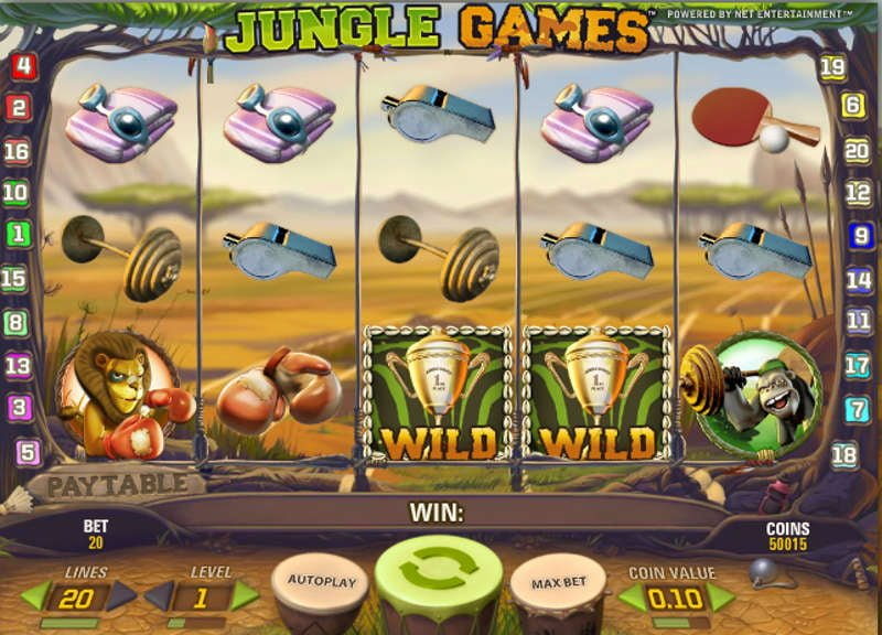 Golden Jungle Slot Review & Free Instant Play Game
