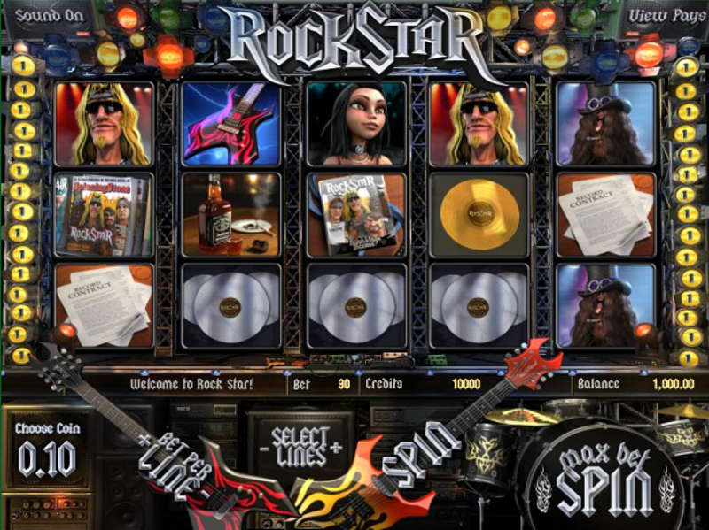 Rock Star Slots Free Play & Real Money Casinos