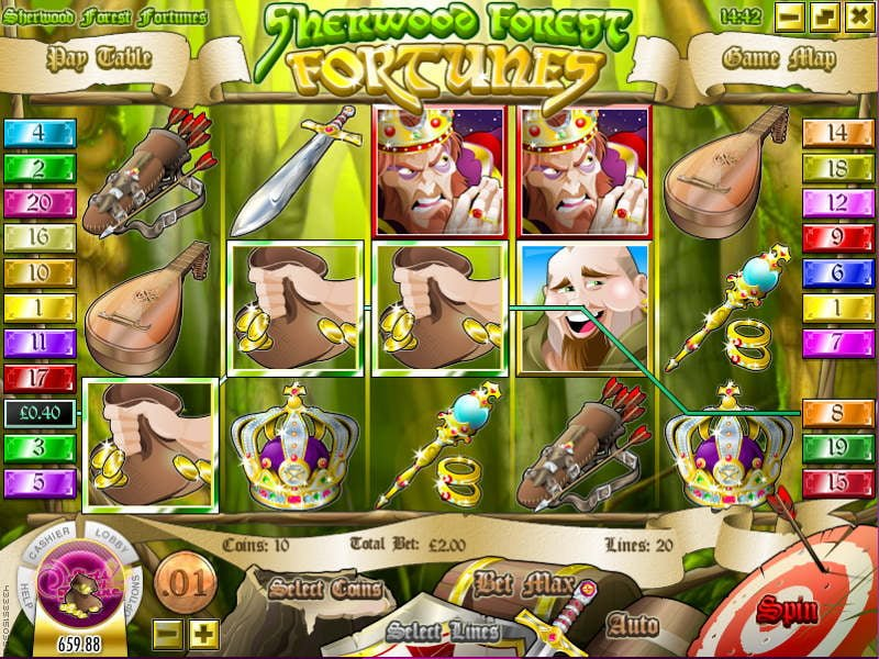 sherwood-forest-fortunes slot