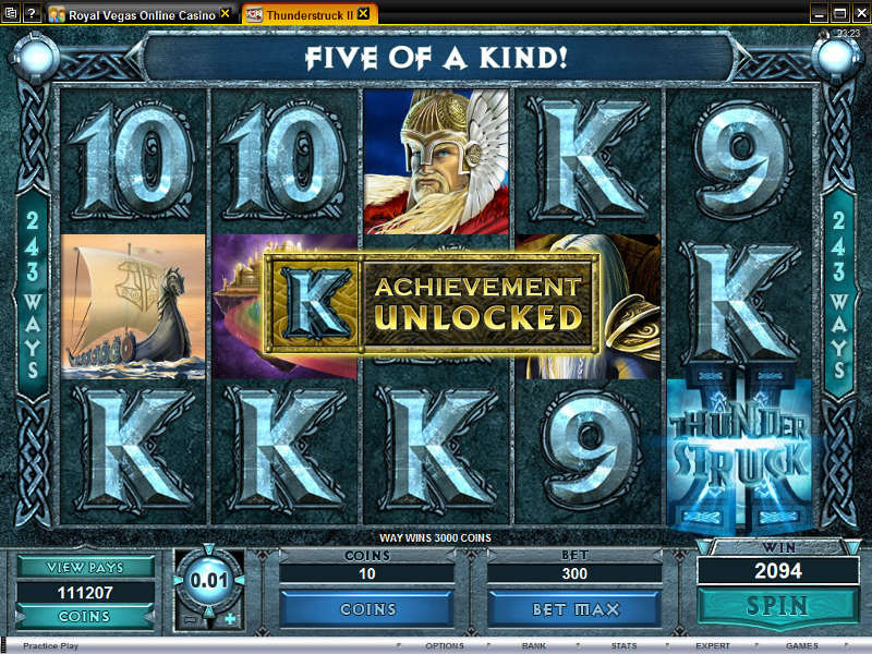 Thunderstruck II, a slot you can play for hours. Thunderstruck II is the sequel to the very popular and critically acclaimed Thunderstruck video slot.