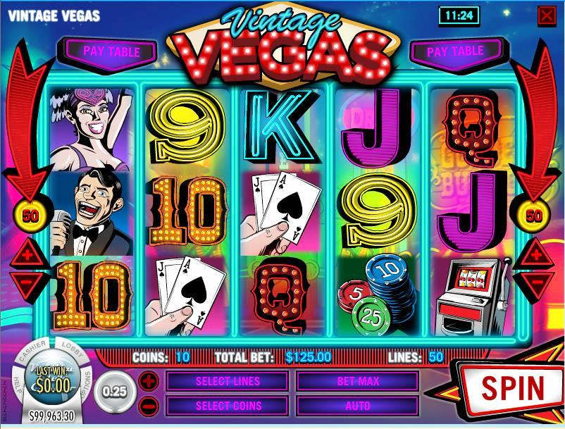 Vintages Vegas Slot