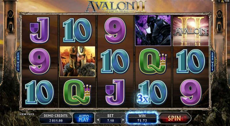 avalon-2 slot