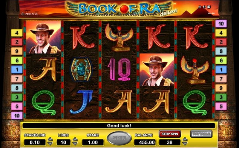 book of ra deluxe slot machine free