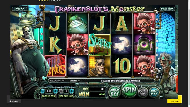 Monster Slot Game