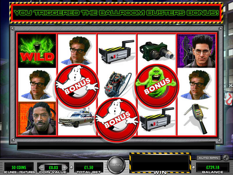 ghostbusters casino