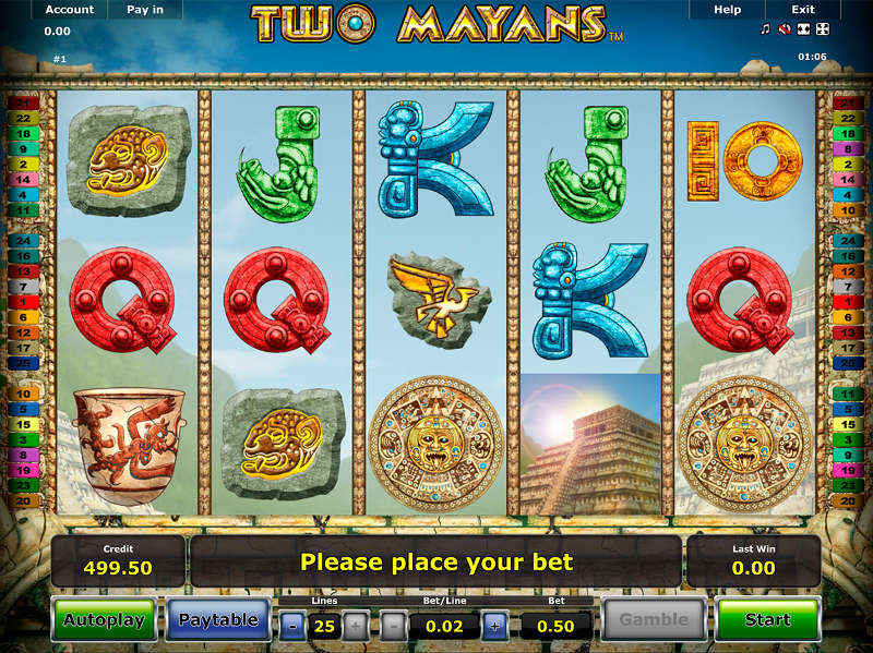 two mayans slot