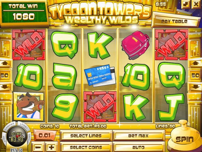 tycoon towers slot