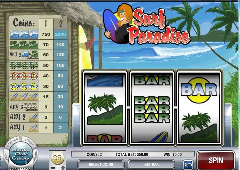 Surf Paradise slot