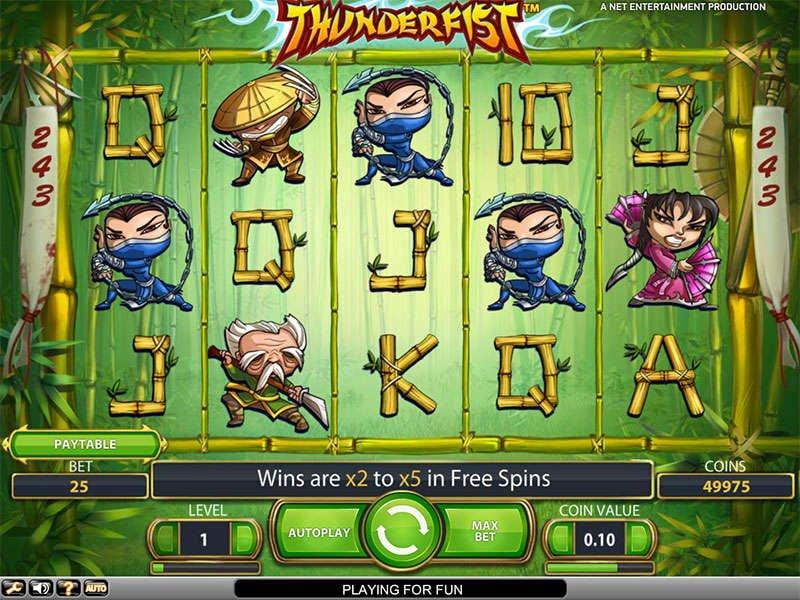 thunderfist casino