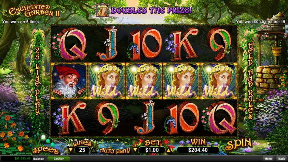 free slots enchanted forest