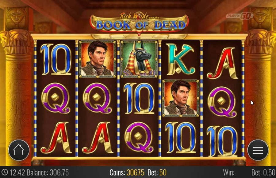 play book of the dead slot
