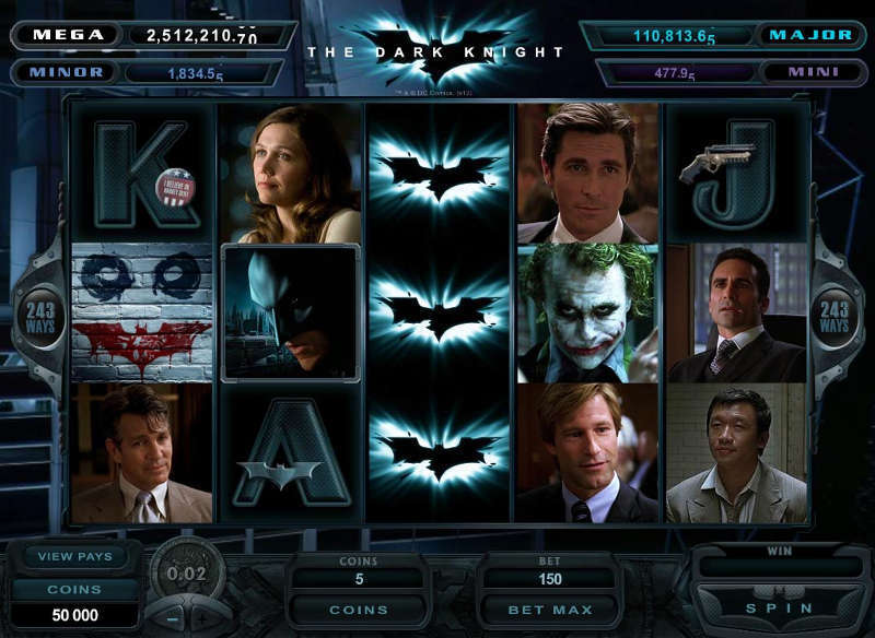 dark knight slot microgaming