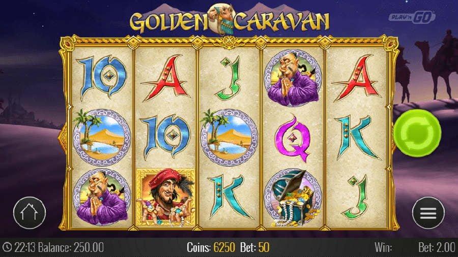 golden carava slot