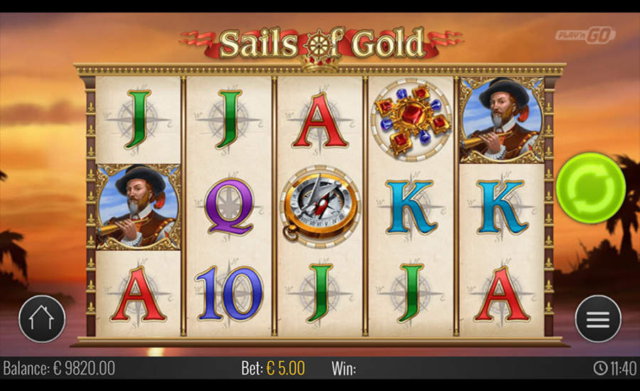 sails of gold slot