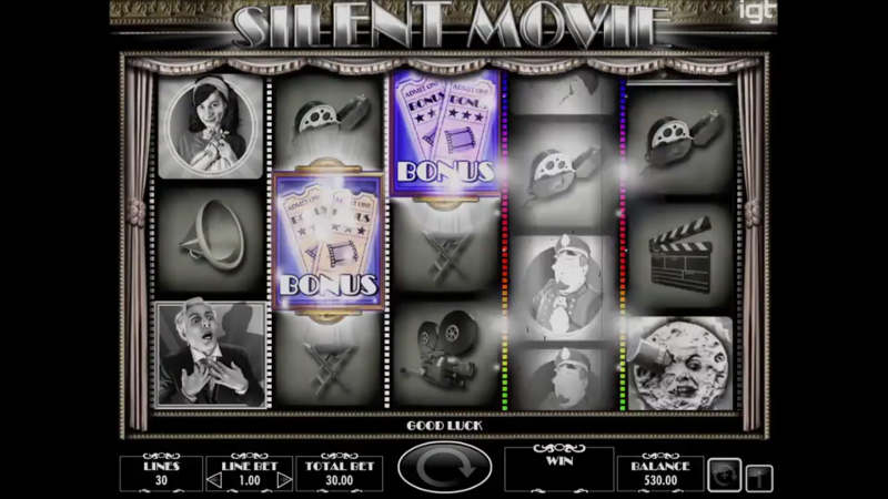 silent movie slot