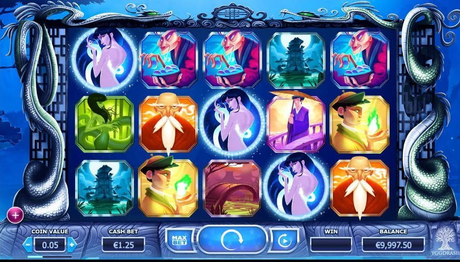 Legend Of The White Snake Lady - Rizk Casino