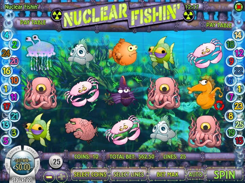 Nucleaur Fishing slot