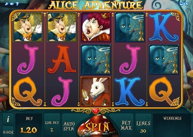 Alice in Fantasyland Slot - Play the Free Casino Game Online