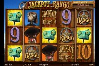 jackpot rango isoft