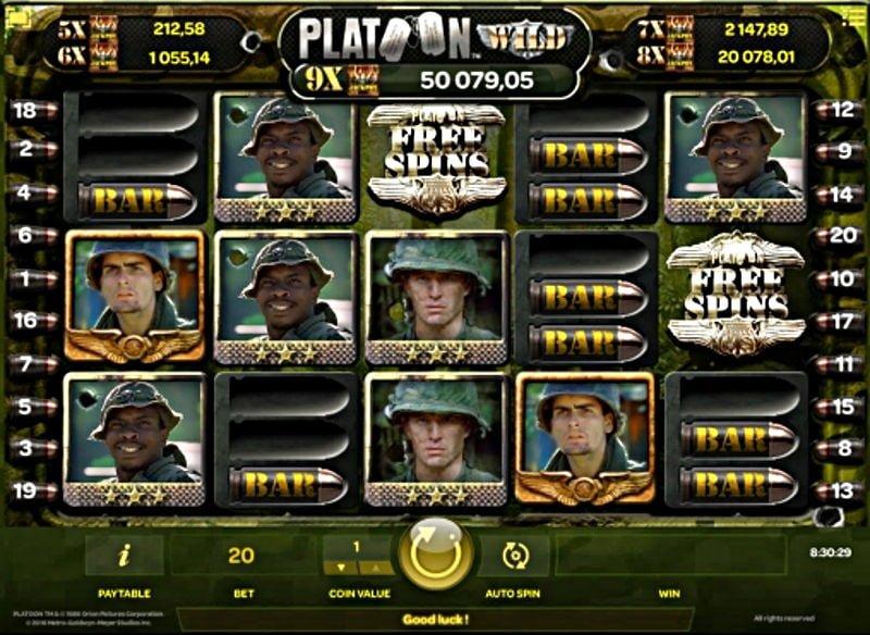 platoon casino