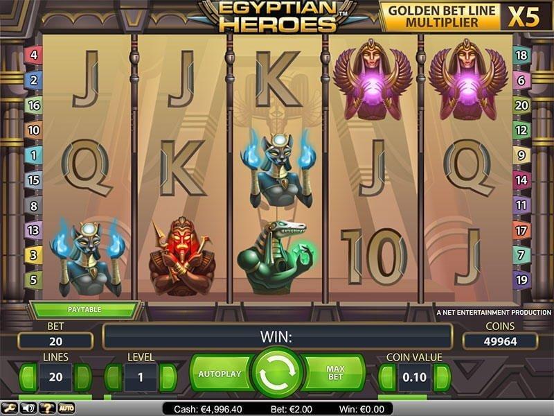 egyptian-heroes slot