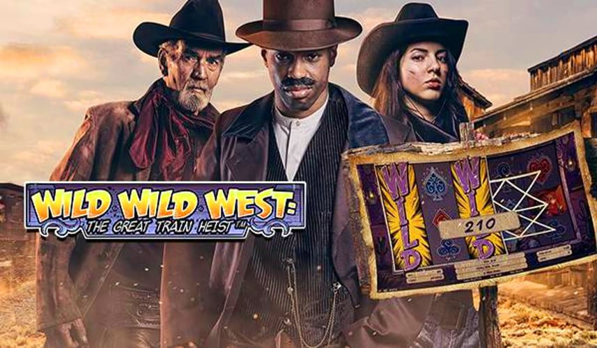 Wild Wild West: The Great Train Heist Slot - Online Spielen