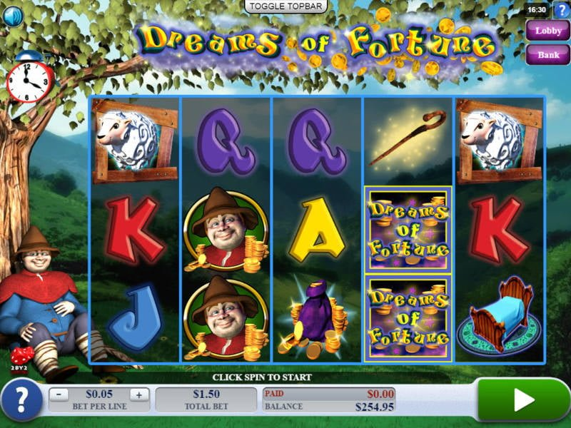 Dreams Of Fortune Slot