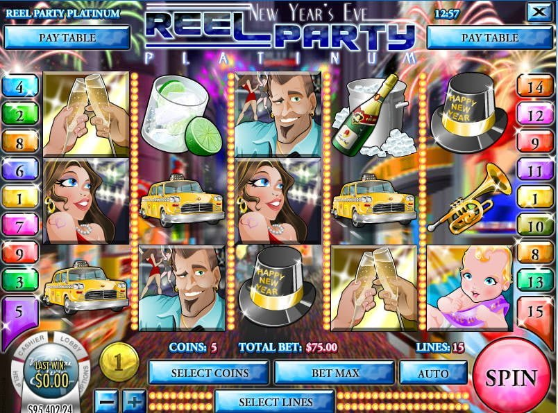 New Year's Ever Reel Party Slot