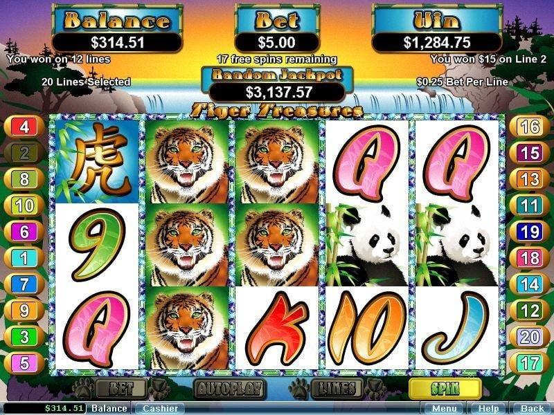 casino tigers